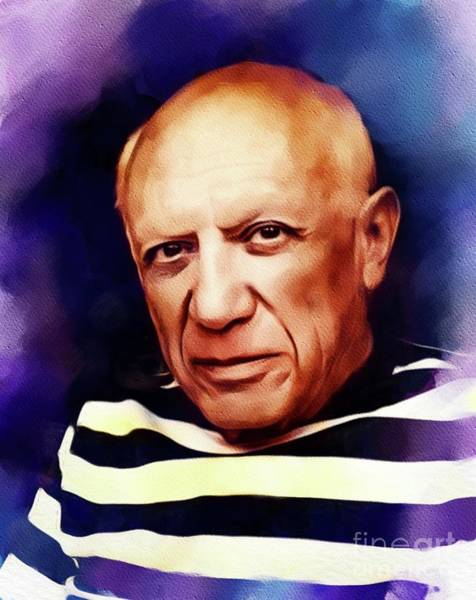 Picasso Painting - Pablo Picasso, Artist by John Springfield