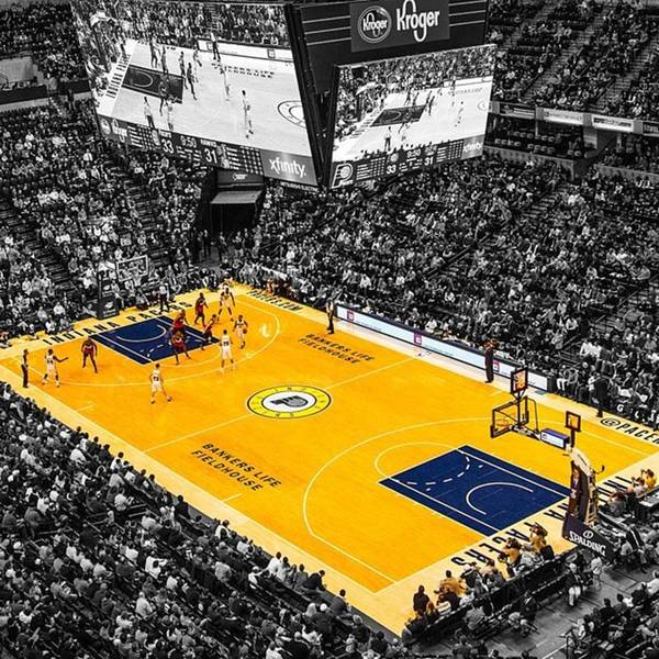 Wall Art - Photograph - #pacers #pacersgamenight #pacersvsspurs by David Haskett II