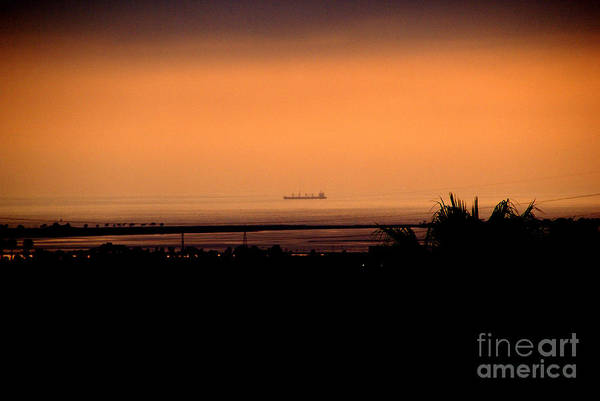 Photograph - Pacific Barge - 1 by Linda Shafer