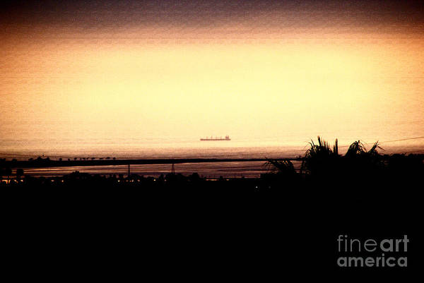 Photograph - Pacific Barge - 2 by Linda Shafer