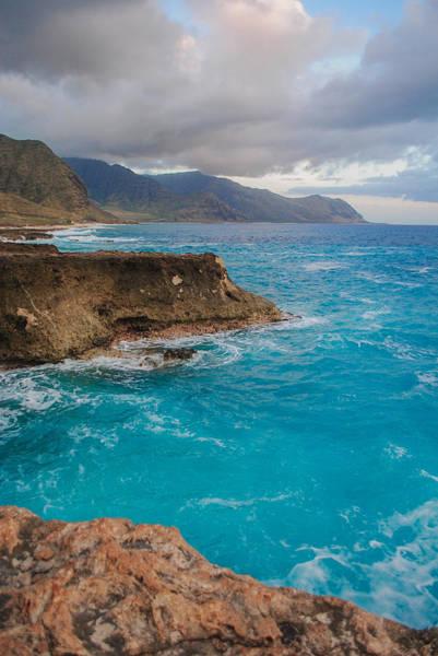 Kaena Photograph - Pacific Blue by Megan Martens