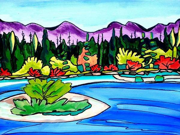 Painting - Pacific Coast by Nikki Dalton