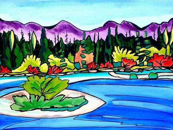 Painting - Pacific Coast by Nikki Dalton