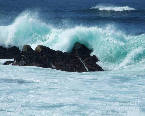 Photograph - Pacific Coast Waves 1 Photograph by Kristen Fox