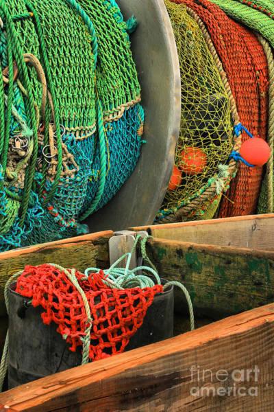 Photograph - Pacific Fishing Nets by Adam Jewell