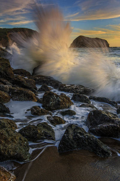 Marin Headlands Photograph - Pacific Fury by Rick Berk
