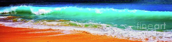 Photograph - Pacific Kauai Hawaii Surf And Beach. by Tom Jelen