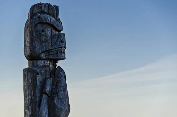 Totem Pole Wall Art - Photograph - Pacific Northwest Totem Pole by Pelo Blanco Photo