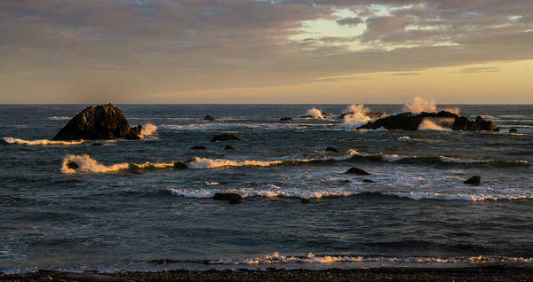 Photograph - Pacific Ocean After The Storm by TL Mair