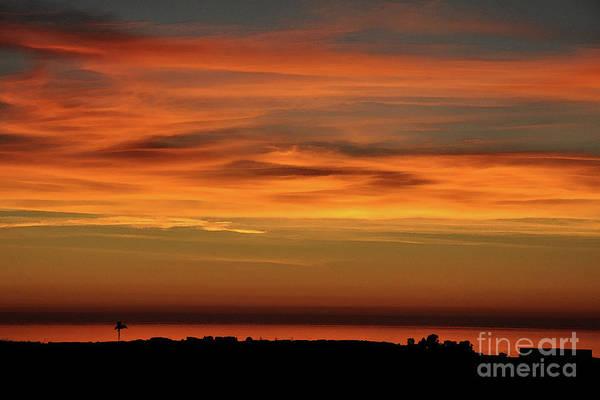 Digital Art - Pacific Ocean Sunset by Kirt Tisdale