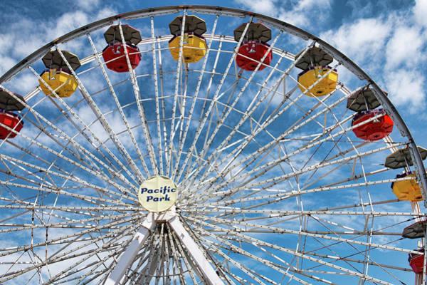 Photograph - Pacific Park Ferris Wheel by Kristia Adams