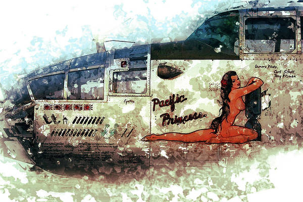 Wall Art - Painting - Pacific Princess by Louis Ferreira