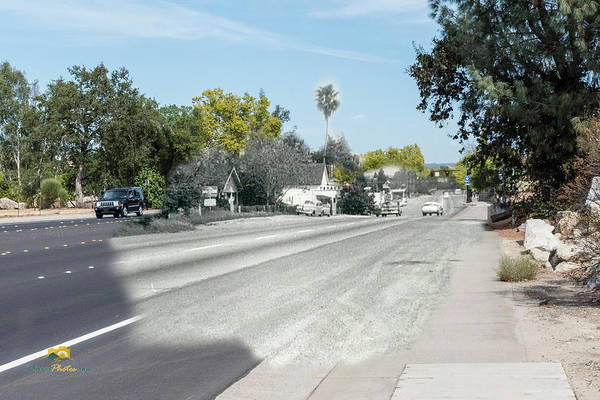 Photograph - Pacific Street Then And Now by Jim Thompson