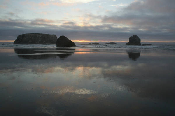 Photograph - Pacific Sun Reflection by Dylan Punke