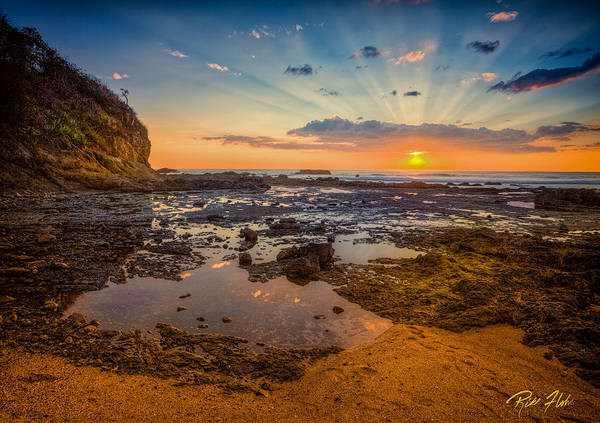Photograph - Pacific Sunset In Costa Rica by Rikk Flohr