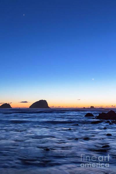 Photograph - Pacific Venus At Twilight by Richard Sandford