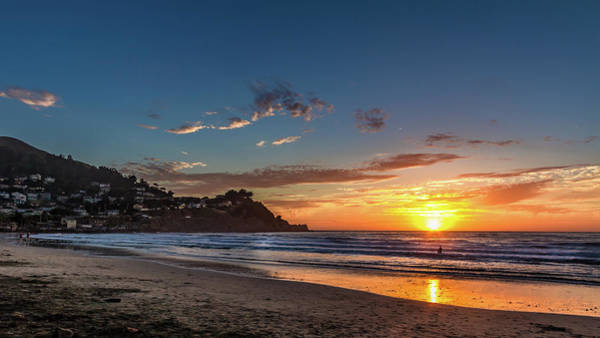 Northern California Wall Art - Photograph - Pacifica Sunset by Bill Gallagher