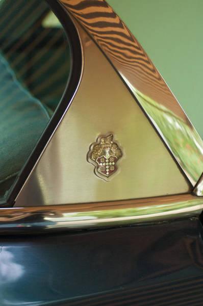 Photograph - Packard Emblem 2 by Jill Reger