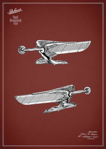 Vintage Hood Ornaments Photograph - Packard Hood Ornament 1939 by Mark Rogan