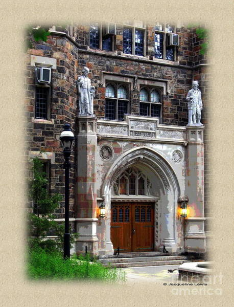 Lehigh University Wall Art - Photograph - Packard Laboratory by Jacqueline M Lewis