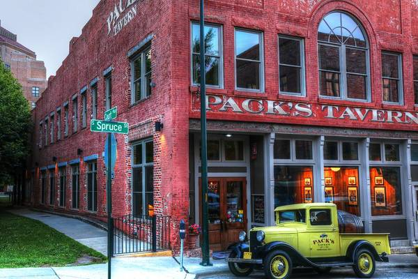 Photograph - Pack's Tavern Asheville North Carolina by Carol Montoya