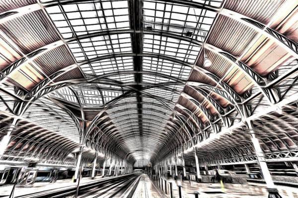 Wall Art - Photograph - Paddington Station Art by David Pyatt