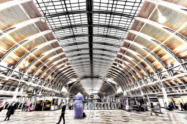Wall Art - Photograph - Paddington Station London Art by David Pyatt