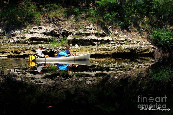Photograph - Paddle The Suwannee by Barbara Bowen