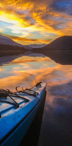 Nelson Bc Photograph - Paddler's Paradise by Joy McAdams