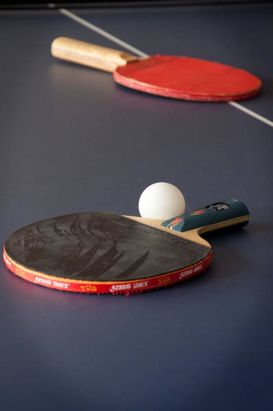 Photograph - Paddles And Ball by Frank Mari