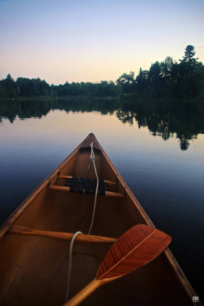 Photograph - Paddling In The Sky by John Meader