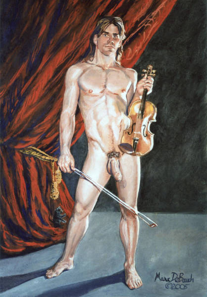 Painting - Paganini I by Marc DeBauch