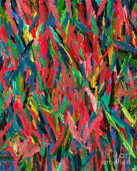 Flaming Sword Painting - Pageantry by Lara Morrison