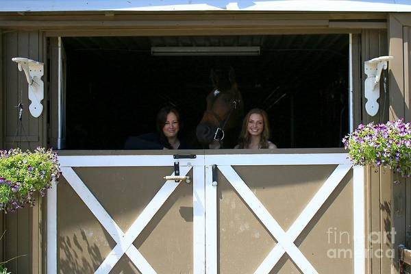 Photograph - Paige-lacey1 by Life With Horses