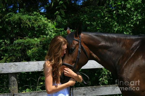 Photograph - Paige-lacey10 by Life With Horses