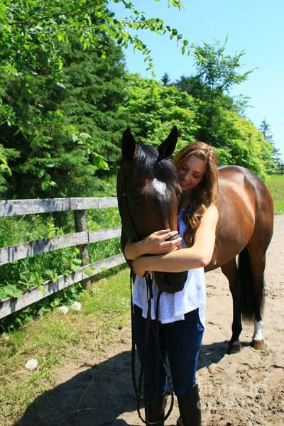 Photograph - Paige-lacey14 by Life With Horses