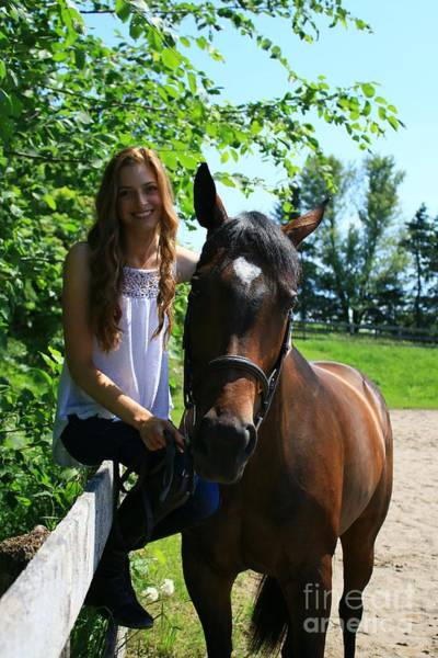 Photograph - Paige-lacey15 by Life With Horses