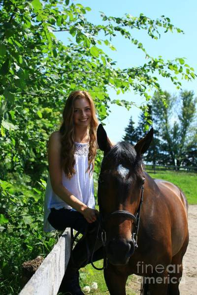 Photograph - Paige-lacey16 by Life With Horses