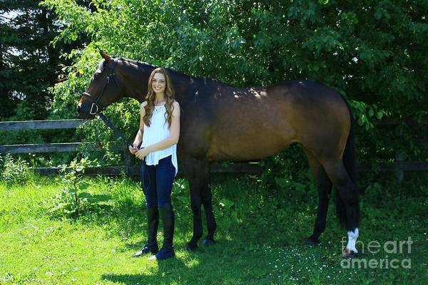 Photograph - Paige-lacey18 by Life With Horses