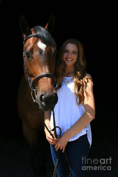 Photograph - Paige-lacey2 by Life With Horses