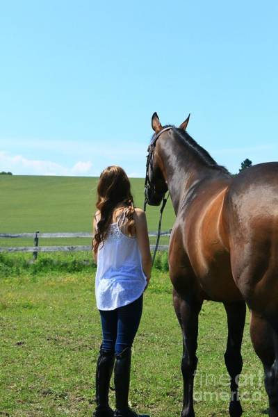 Photograph - Paige-lacey20 by Life With Horses