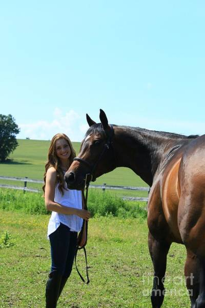 Photograph - Paige-lacey21 by Life With Horses