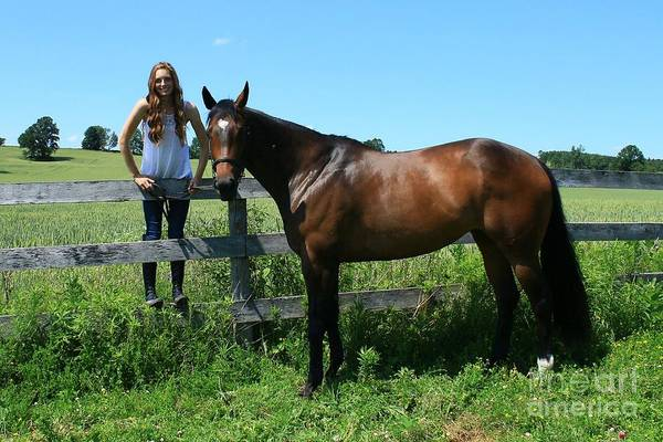 Photograph - Paige-lacey23 by Life With Horses