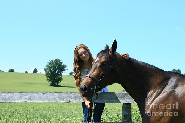 Photograph - Paige-lacey24 by Life With Horses