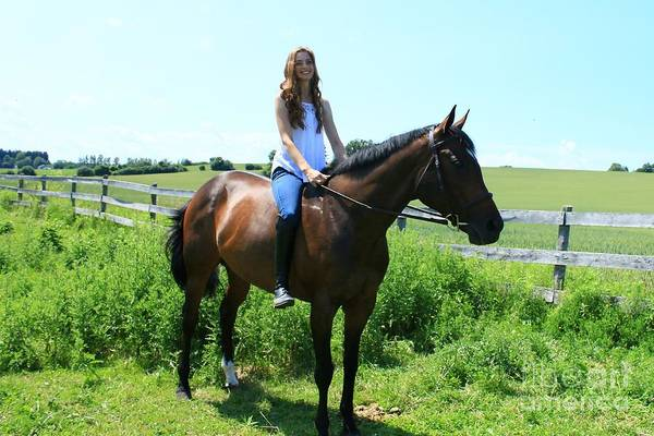 Photograph - Paige-lacey25 by Life With Horses