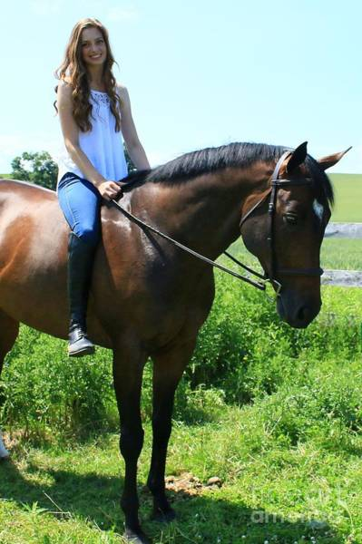 Photograph - Paige-lacey26 by Life With Horses