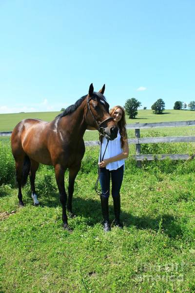 Photograph - Paige-lacey27 by Life With Horses