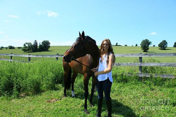 Photograph - Paige-lacey28 by Life With Horses