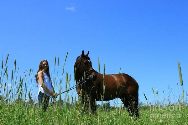 Photograph - Paige-lacey29 by Life With Horses