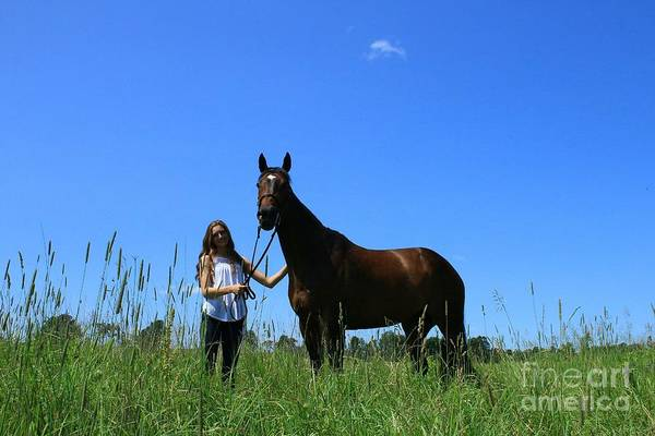 Photograph - Paige-lacey30 by Life With Horses